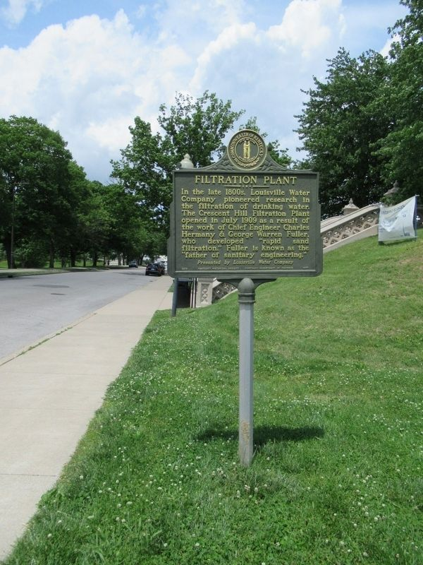 Filtration Plant Marker image. Click for full size.