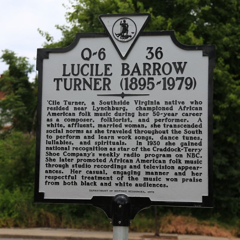 Lucile Barrow Turner Marker image. Click for full size.
