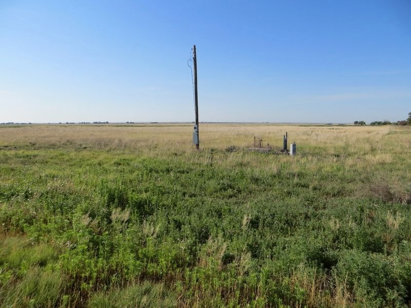 <i>site of</i> First Irrigation Well in Bailey County Marker image. Click for full size.