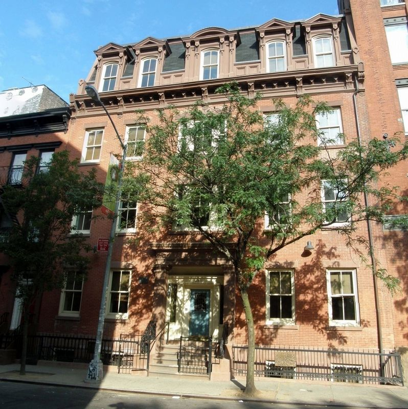 The Old St. Patrick's Cathedral rectory at 263 Mulberry Street. image. Click for full size.