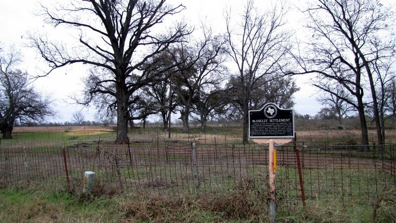 McAnelly Settlement Marker Vicinity image. Click for full size.
