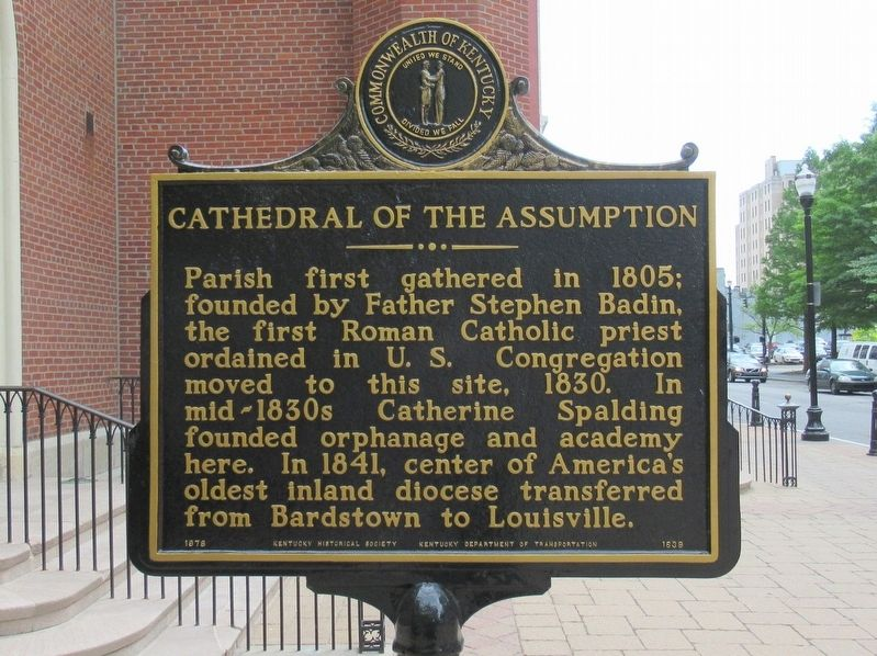 Cathedral of the Assumption Marker image. Click for full size.