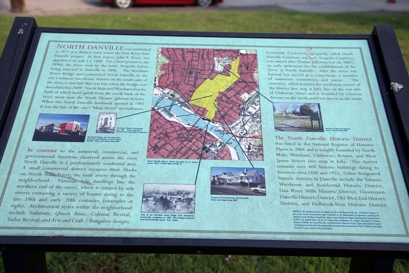 North Danville Marker image. Click for full size.