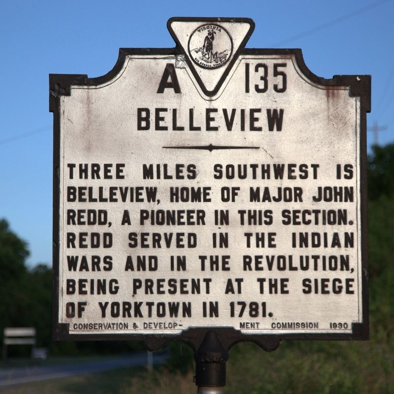 Belleview Marker image. Click for full size.