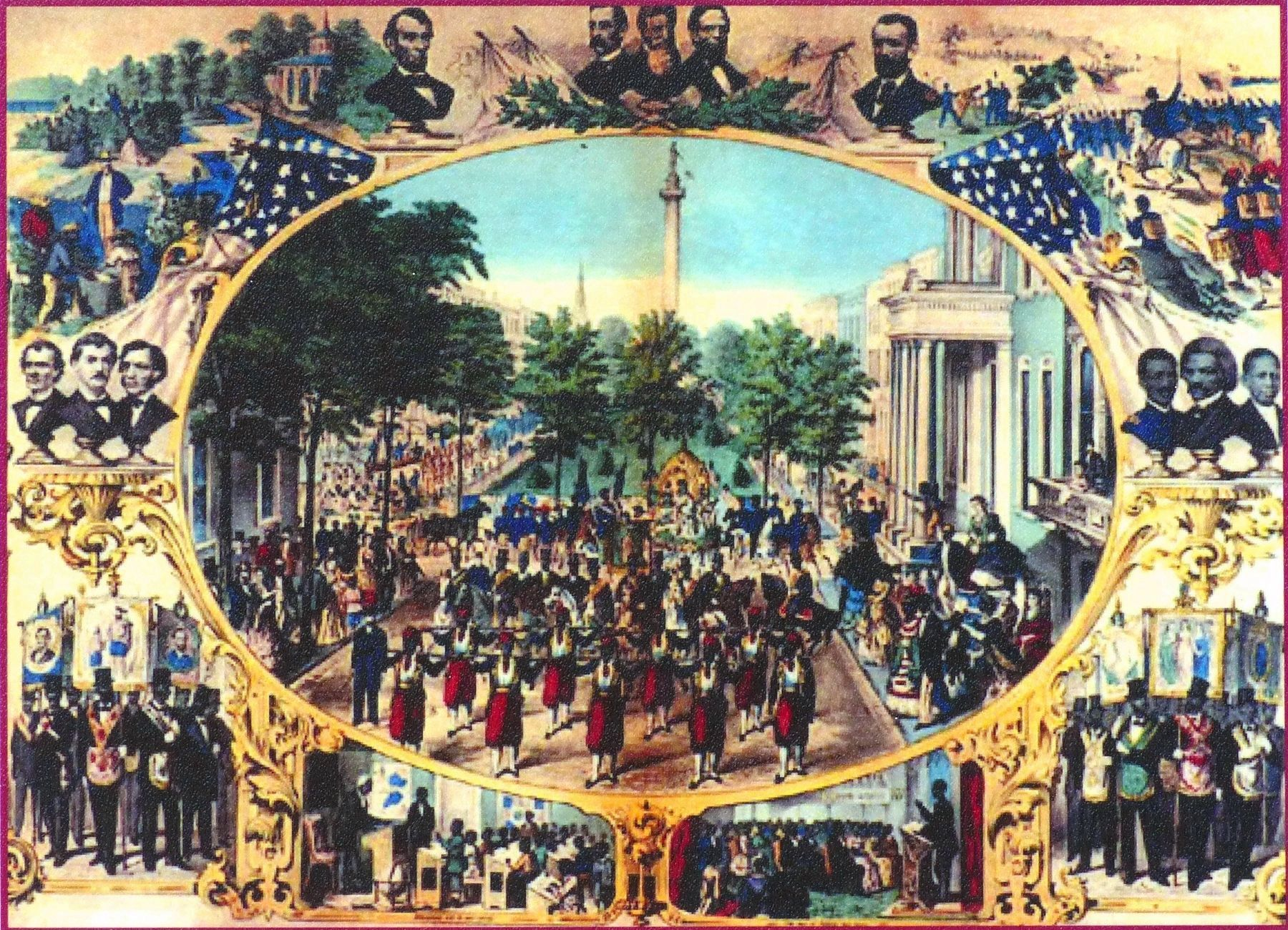15th Amendment Celebration image. Click for full size.
