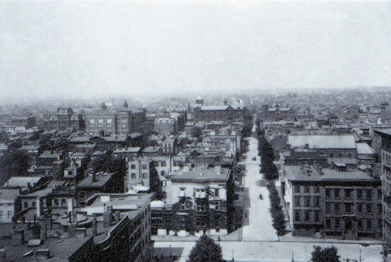 West Monument Street ca. 1903 image. Click for full size.