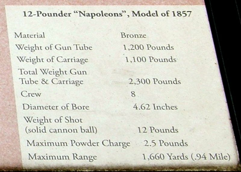 "Insert - ""Napoleon"" characteristics image. Click for full size."