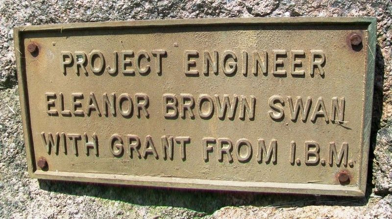 Gen. John Paterson Marker Project Engineer image. Click for full size.