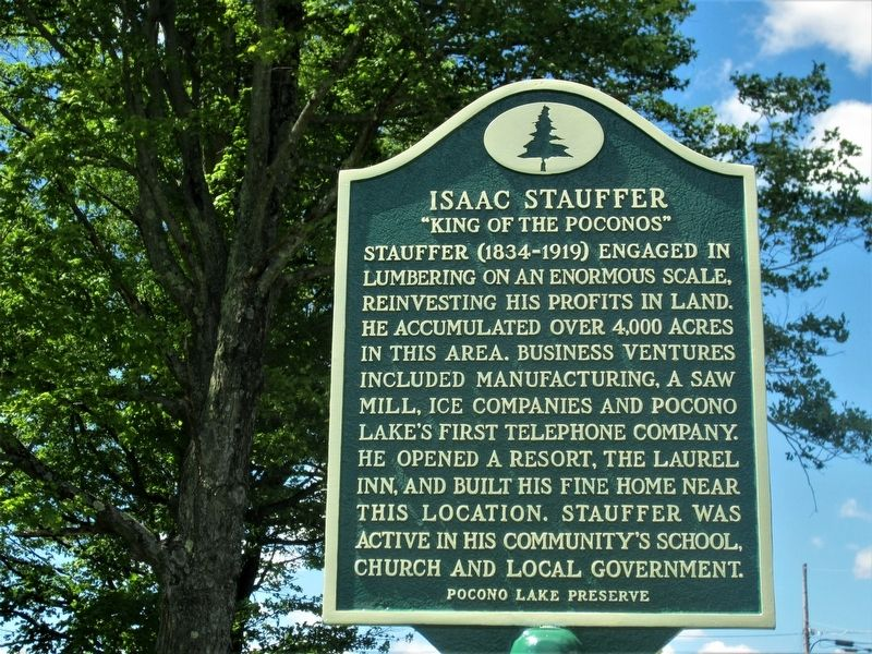 Isaac Stauffer Marker image. Click for full size.