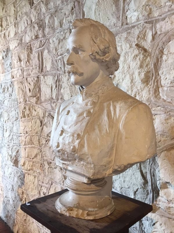 Bust of Albert Sydney Johnston by Elisabet Ney image. Click for full size.