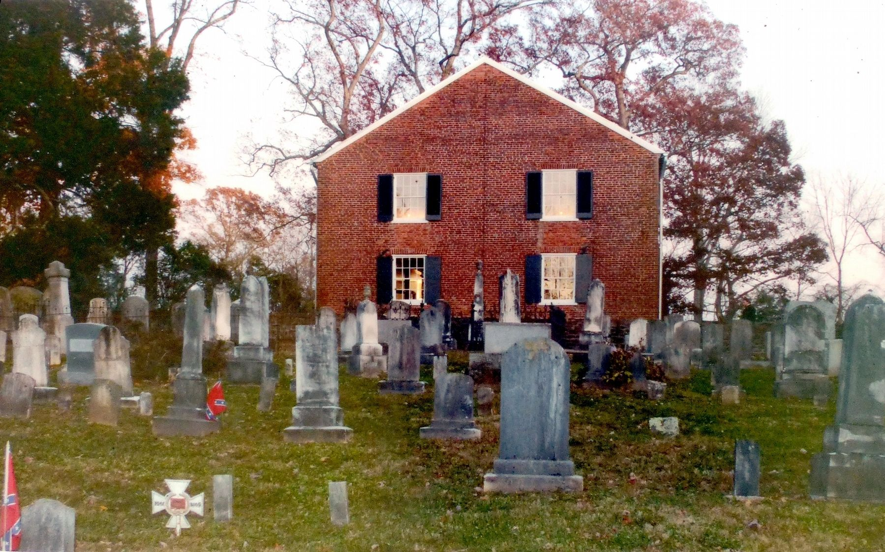Mt. Zion Old School Baptist Church & Cemetery image. Click for full size.