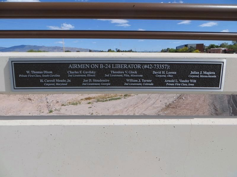 <i>Plaque to right of Airmen Memorial Bridge Marker</i> image. Click for full size.