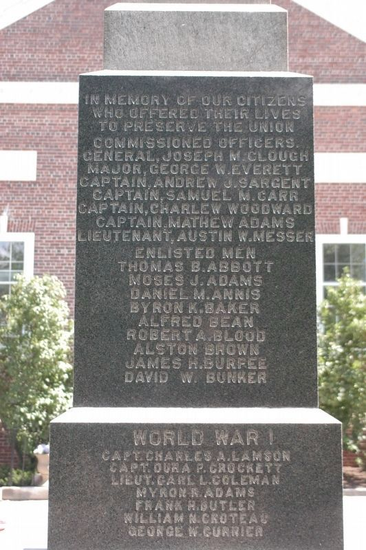 New London War Memorial image. Click for full size.