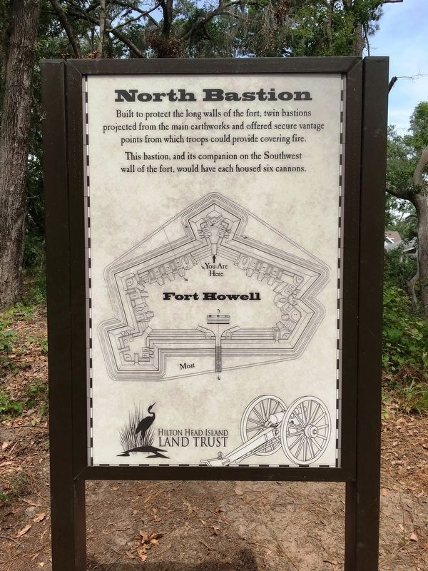 North Bastion Marker image. Click for full size.