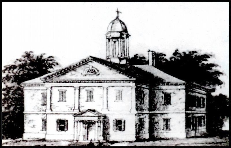 The Second Frederick Court House image. Click for full size.