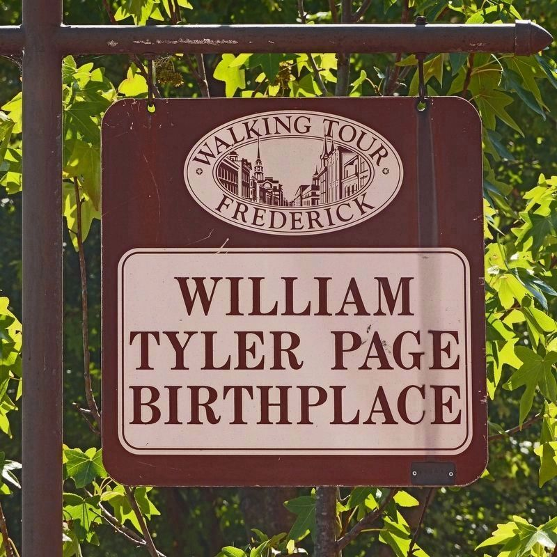 Birthplace of William Tyler Page image. Click for full size.