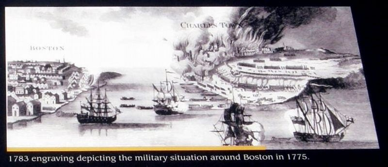 Insert - Boston 1775 image. Click for full size.