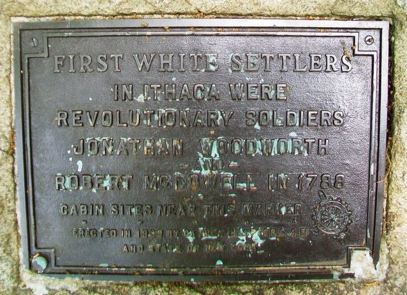 First White Settlers Marker image. Click for full size.