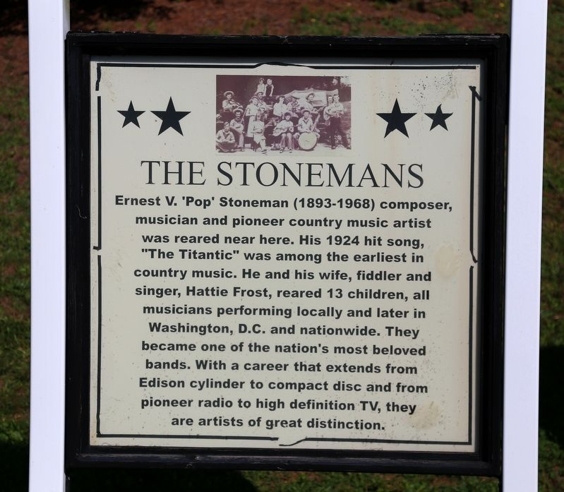 The Stonemans Marker image. Click for full size.