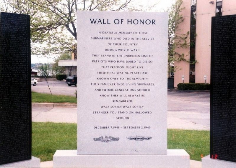Wall of Honor Marker image. Click for full size.