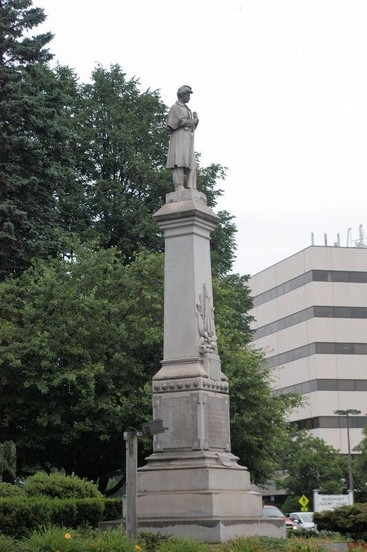 Lewiston Maine Civil War Memorial Marker image. Click for full size.