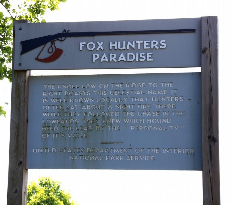 Fox Hunters Paradise Marker image. Click for full size.