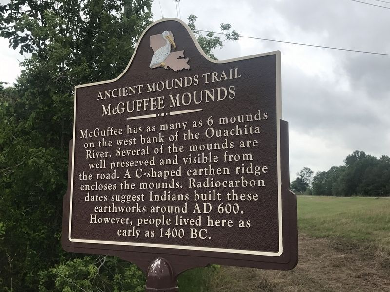 McGuffee Mounds Marker image. Click for full size.