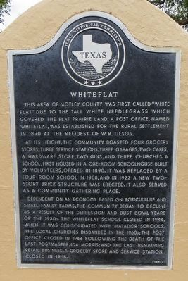 Whiteflat Marker image. Click for full size.
