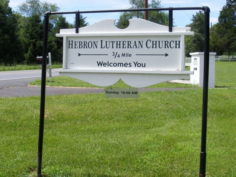 Hebron Lutheran Church image. Click for full size.