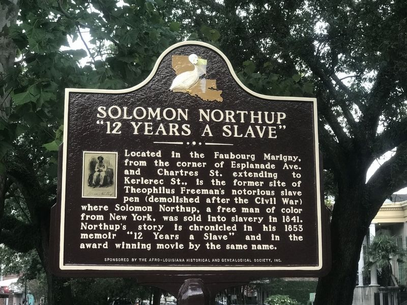 Solomon Northup Marker image. Click for full size.