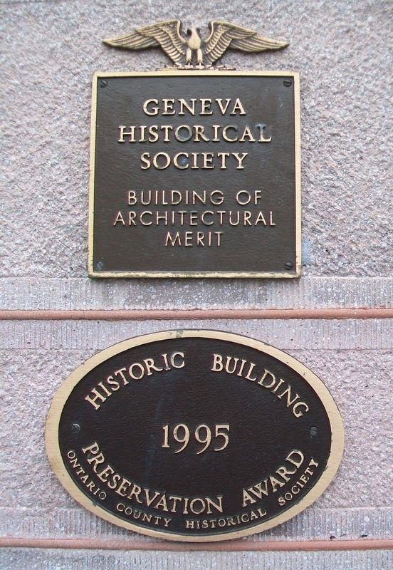 Smith's Opera House Markers image. Click for full size.