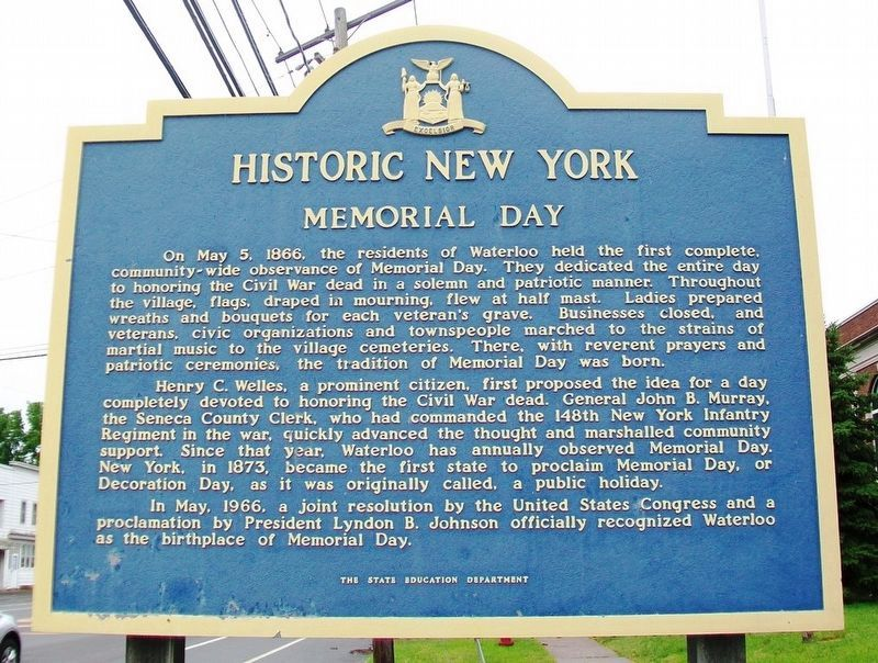 Memorial Day Marker image. Click for full size.