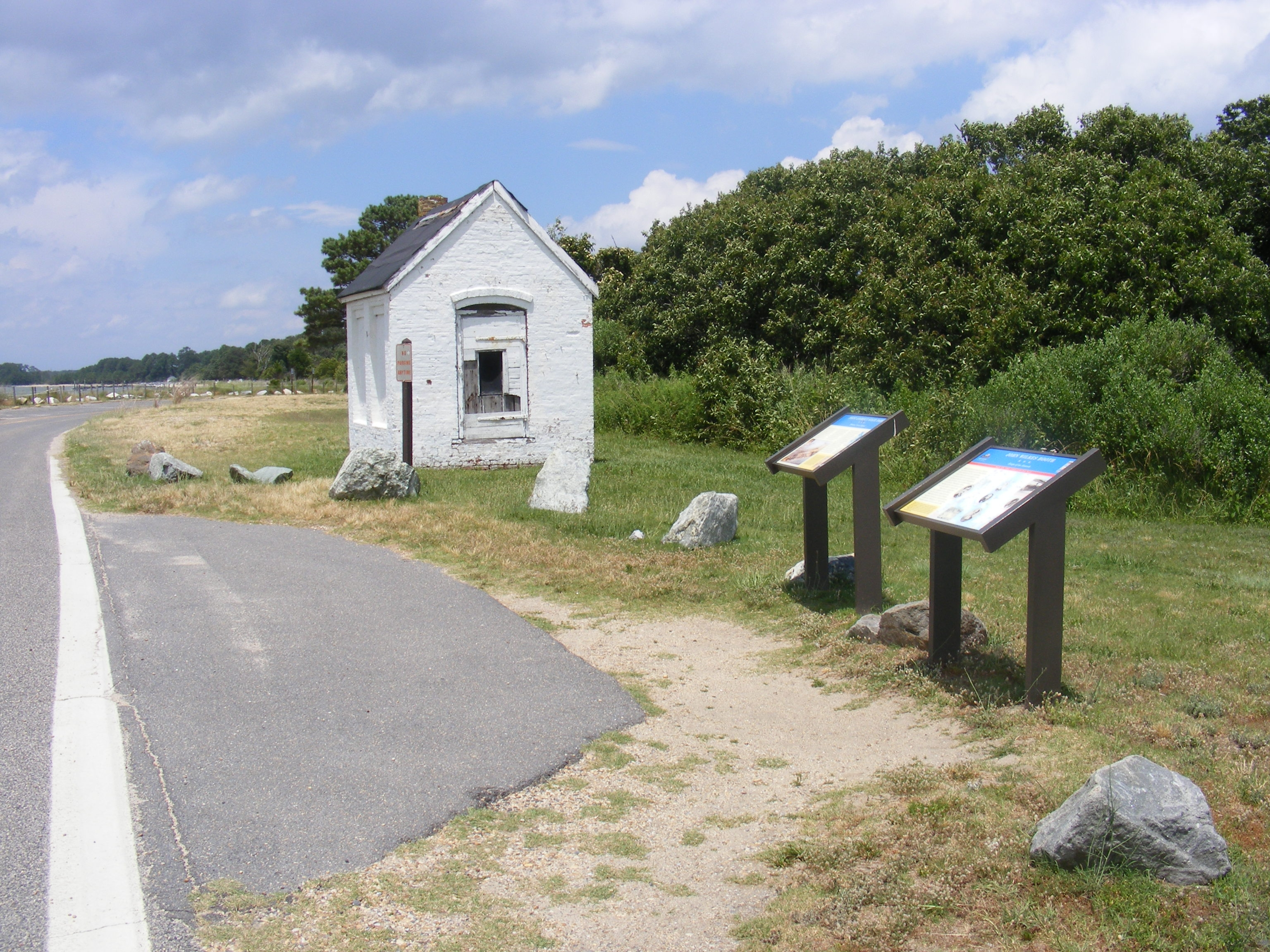 Point Lookout State Park Marker
