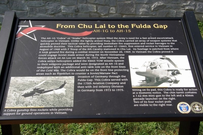 From Chu Lai to the Fulda Gap Marker image. Click for full size.
