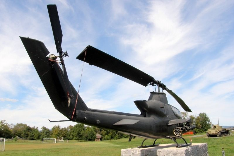 AH-1 Cobra on display image. Click for full size.