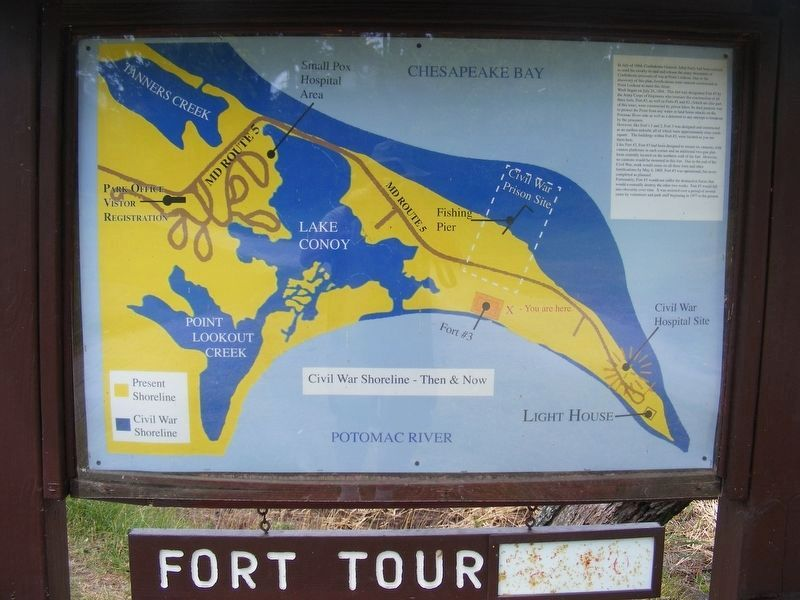 Point Lookout Fort Tour image. Click for full size.