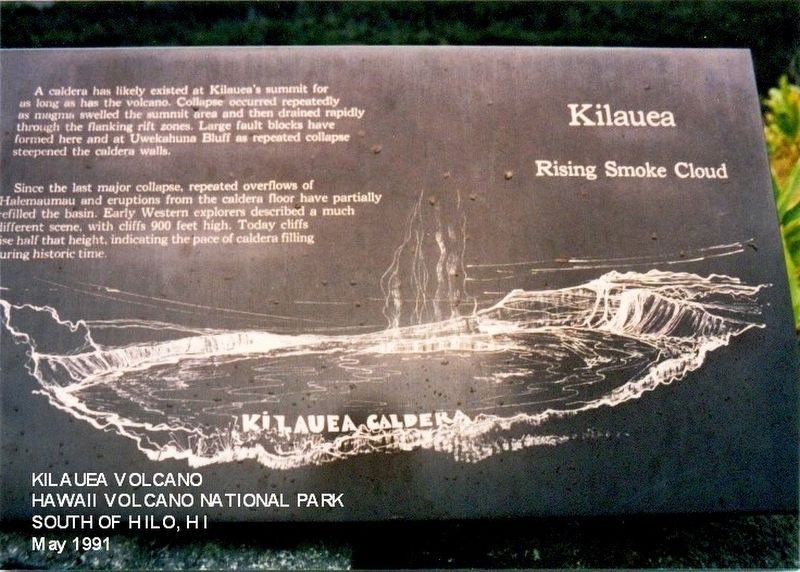 Kilauea Marker image. Click for full size.