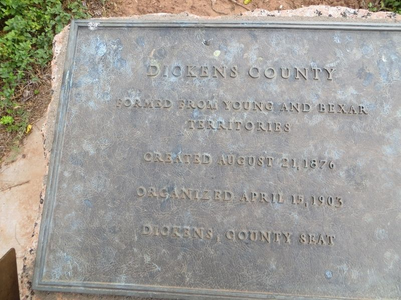 Dickens County Marker image. Click for full size.