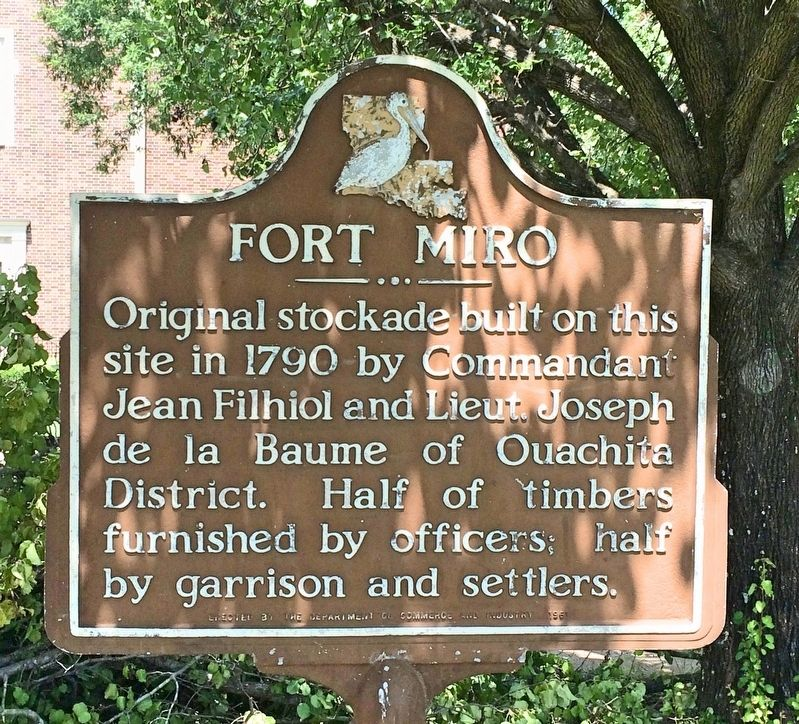 Fort Miro Marker image. Click for full size.