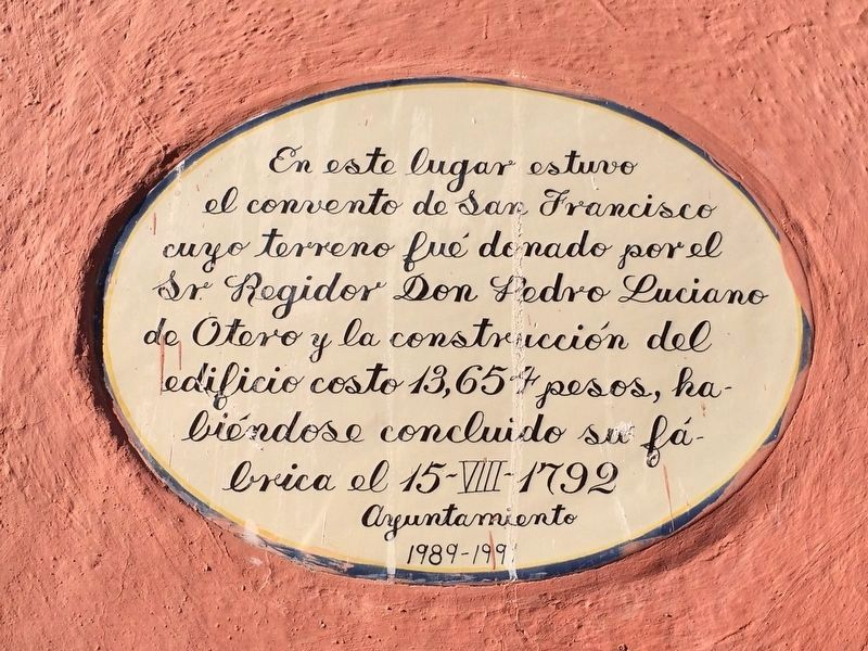 An additional marker on The Temple of San Juan Bautista image. Click for full size.