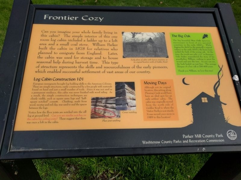 Frontier Cozy Marker image. Click for full size.