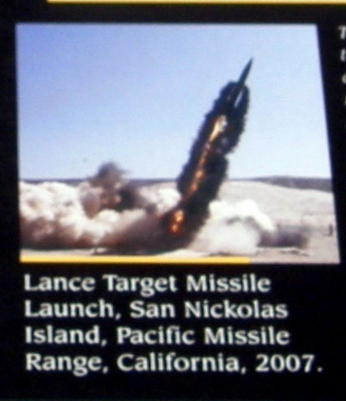 Insert - Lance missile launch image. Click for full size.
