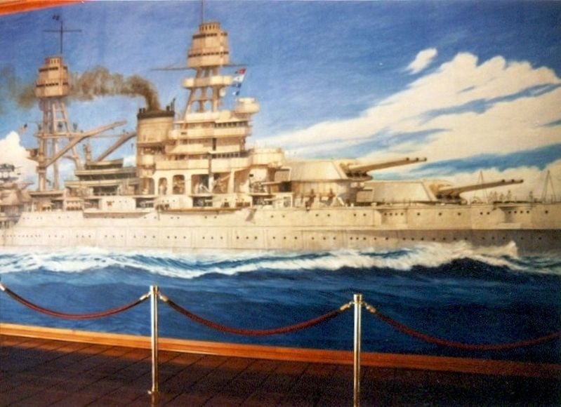 USS Arizona Painting image. Click for full size.