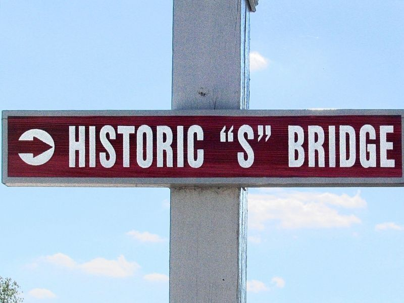 "Historic ""S"" Bridge image. Click for full size."