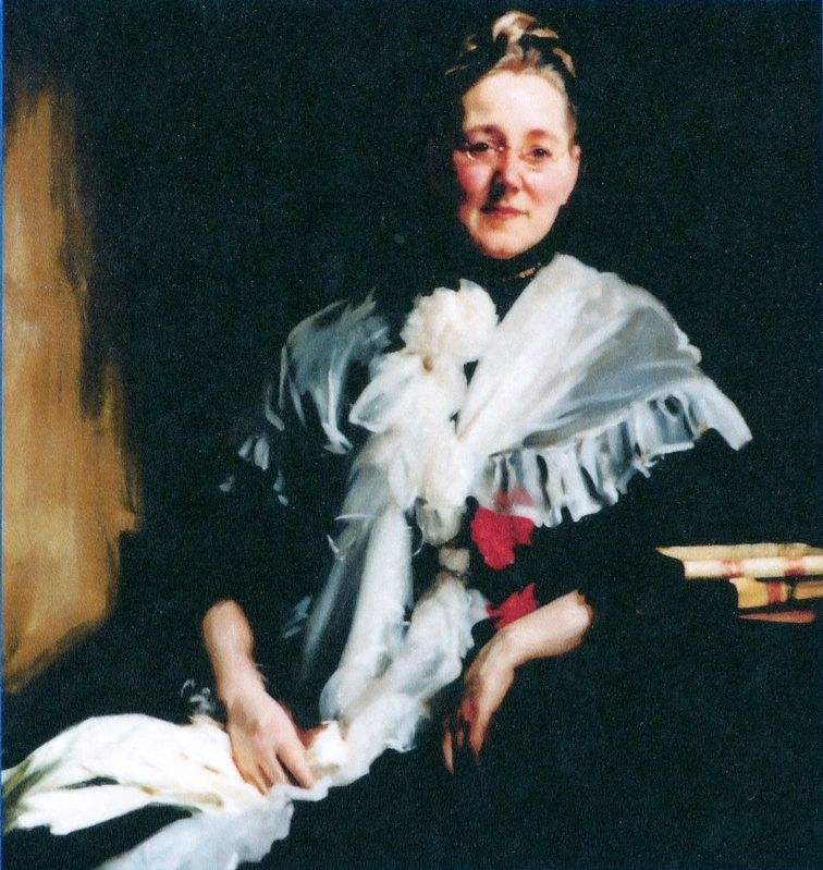 Mary Elizabeth Garrett image. Click for full size.