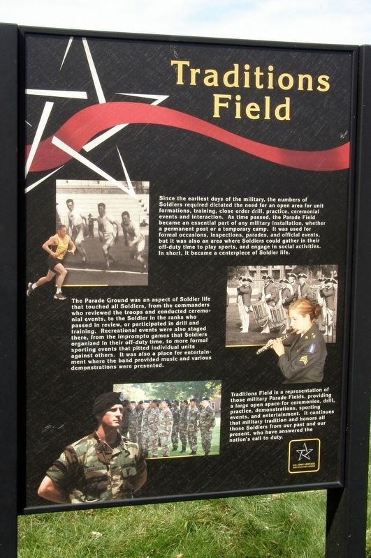 Traditions Field Marker image. Click for full size.