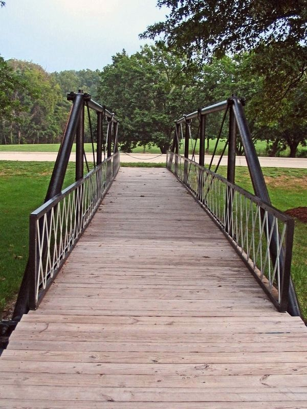 Fancher Pony Truss Bridge image. Click for full size.