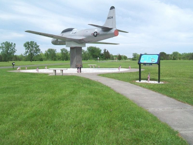 Jets Go To War Marker and T-33 image. Click for full size.