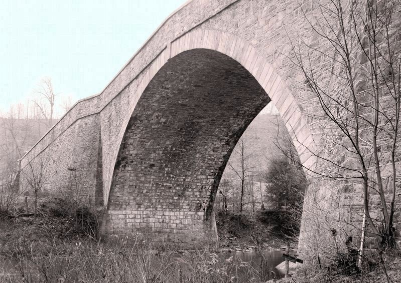 Detail Of Bridge Over Casselman River image. Click for full size.