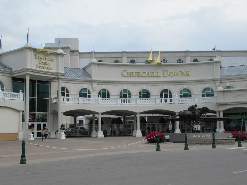 Churchill Downs and the Kentucky Derby Museum image. Click for full size.